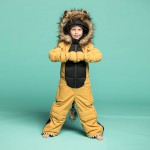 Weedo Kids Lion Snowsuit Golden Brown