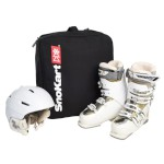 SnoKart Boot & Helmet Backpack Black