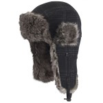 Manbi Men's Pinbomb Winter Hat Charcoa