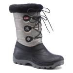 Olang Womens Patty Lux Winter Boot Sil