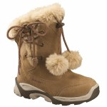 Hi-tec Vail JR Winter Boot Honey/Putty