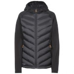 Joyce Womens DLX Hooded Down Jacket Bl