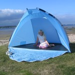 OutdoorGear Corfe Beach Tent Blue