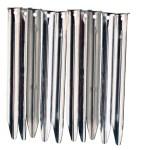 10x Vango 20cm Steel V Peg 10