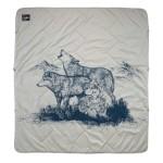 Therm-a-Rest Argo Blanket Wolf Print