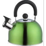 Milicamp 2L Whistling Kettle Metalic G