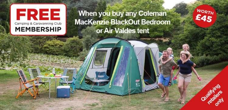 Coleman Free Camping and Caravanning Club Membership