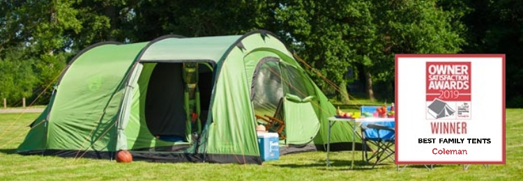 Outdoor Gear Coleman Family Tents