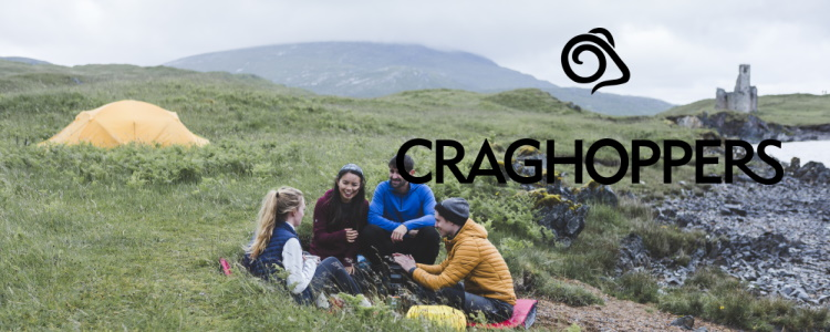 Camping equipment from Craghoppers