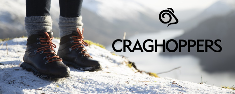 Footwear from Craghoppers
