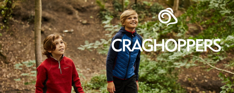 Kid's clothing from Craghoppers