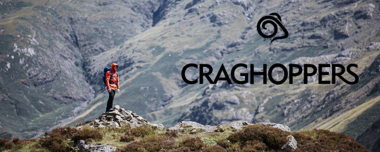Walking clothing from Craghoppers