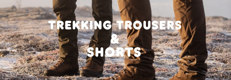Trousers and shorts by Fjallraven