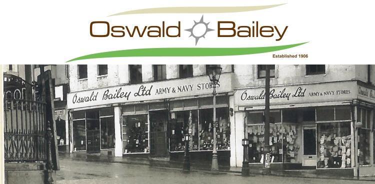 Oswald Bailey, family run since 1906!