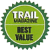 Voted best value boot by Trail Magazine