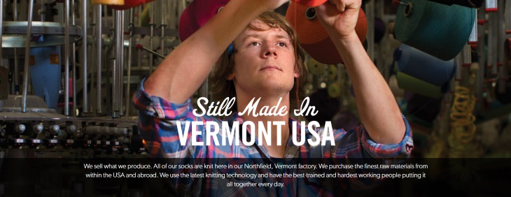 Still made in Vermont, USA