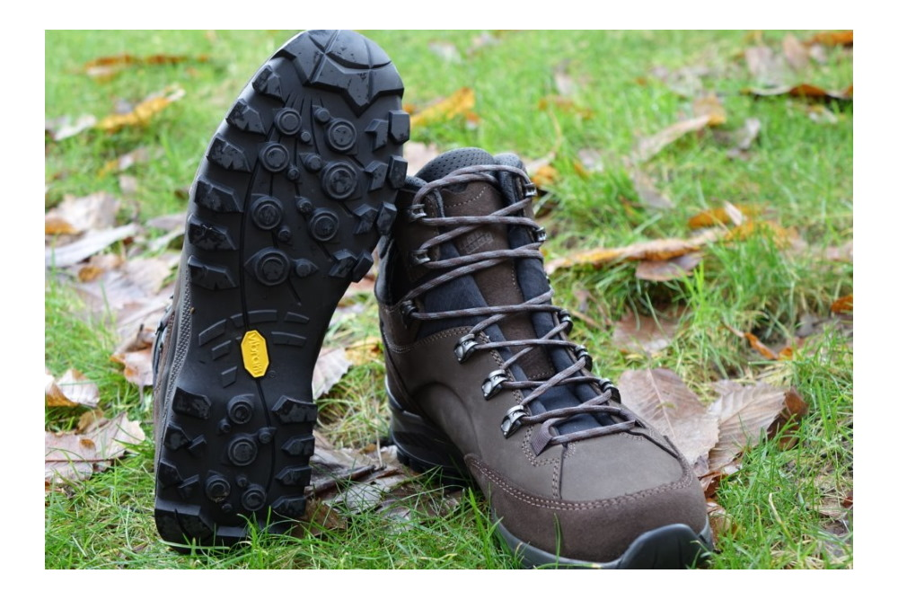 Hanwag Banks GTX sole offers excellent traction