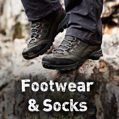 Outdoor Gear Footwear and Socks
