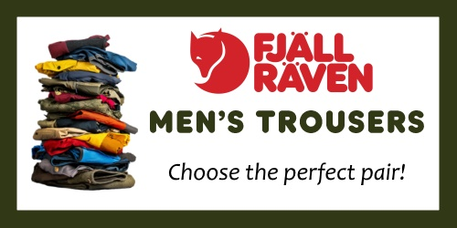 Fjallraven Trousers - OutdoorGear