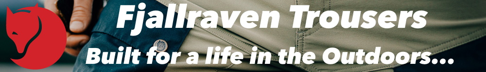Fjallraven Trousers - Outdoor Gear