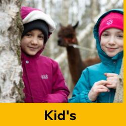 Jack Wolfskin Kids Clothing - OutdoorGear
