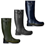 Hunter Balmoral Adjustable 3mm Neoprene Wellington Boot