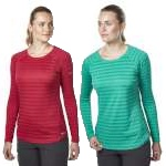 Berghaus Womens Striped Tech T-Shirt