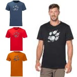 Jack Wolfskin Marble Paw T Shirt