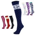 "Manbi  24"" Patterned Tube Socks"