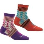 Darn Tough Womens Swirl Print Shorty Light Socks