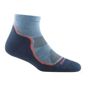Darn Tough Womens Light Hiker 1/4 Cushion Socks