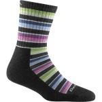 Darn Tough Women's Decade Stripe Micro Crew Cushion Socks