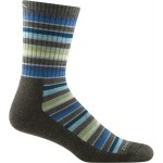 Darn Tough Decade Stripe Micro Crew Cushion Socks