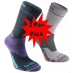 Bridgedale Womens WoolFusion Trekker Socks - 2 Pack