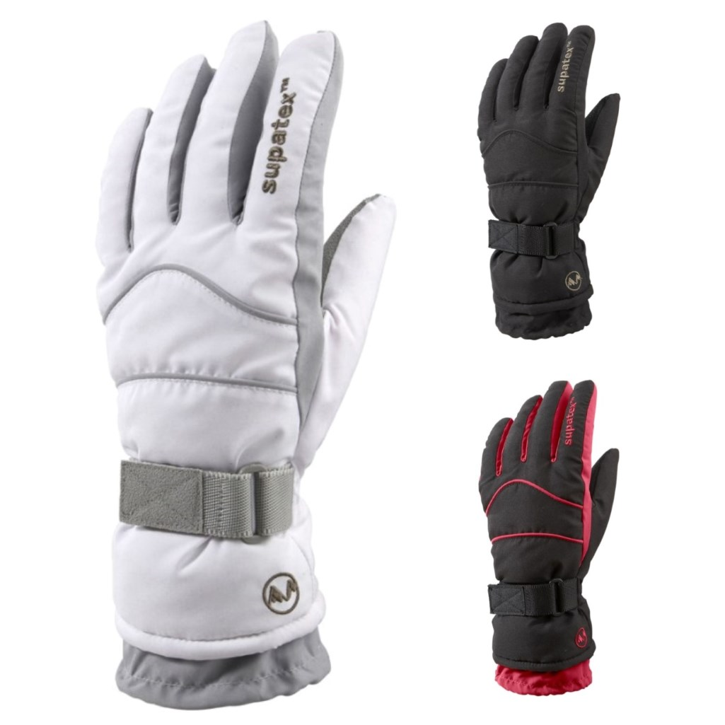 Manbi Women's Carve Ski Gloves