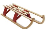 Lillehammer Folding Wooden Sledge
