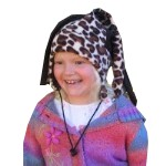 Arctic Fox  Kids Jester Animal Print Hat