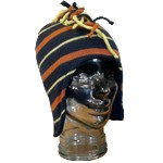 Kids Mohican Striped Inca Hat