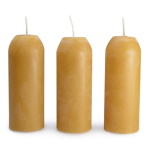 UCO 100% Natural Beeswax Candles - 3 Pack