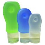 Trekmates Silicone Travel Bottle Set